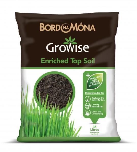 Growise Enriched Topsoil 35L