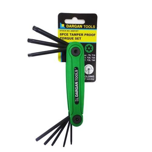 8pce Torque Pen-knife Allen Key Set
