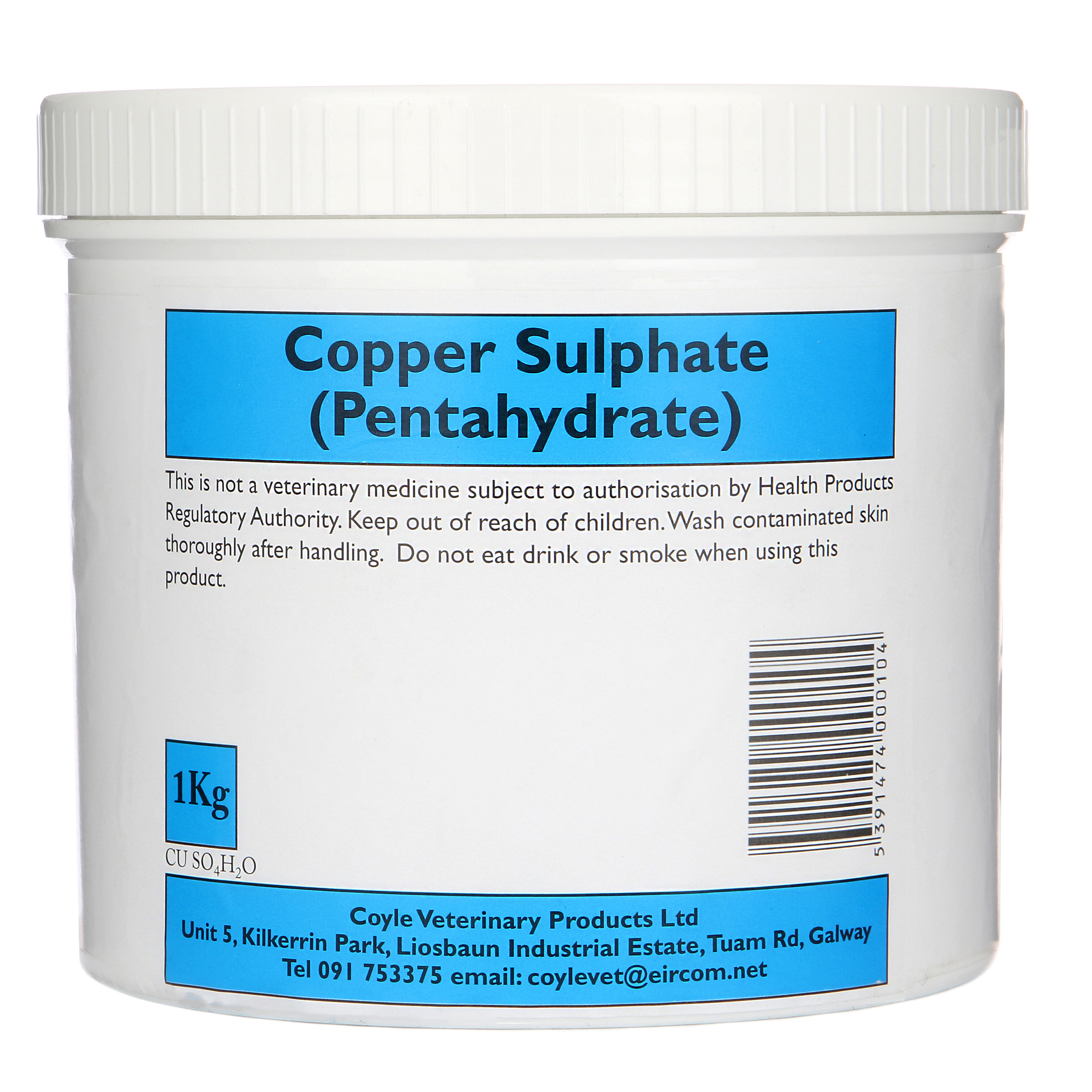 Copper Sulphate 1kg Tub