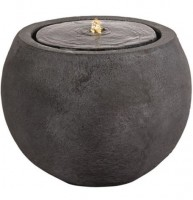 Round LED Water Feature