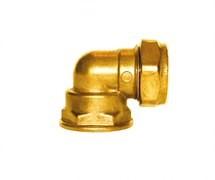 Brass Elbow F.i. X C