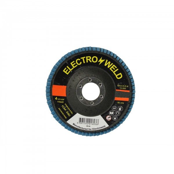 Electroweld Stainless Steel Flap Disc Grit 40