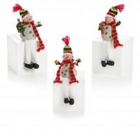 Dangly Leg Frosty Snowman - Assorted