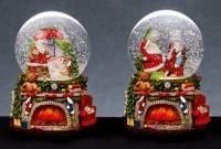 Musical Santa Snow Globe - Assorted