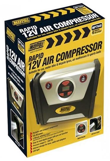 12V Compressor For Cars/Bike Tyres