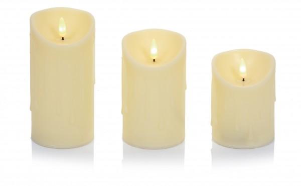 Flickabright Candles Set of 3