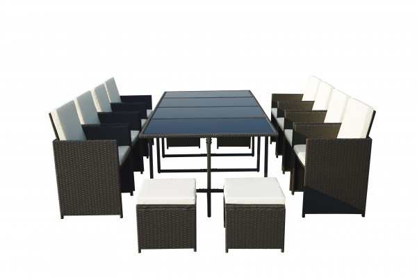 Cannes 12 Seater Cube set