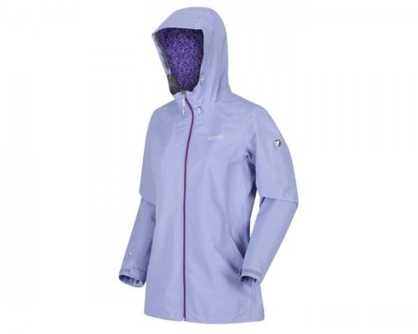 Regatta Hamara III Lightweight Waterproof Hooded Walking Jacket - Lilac Bloom