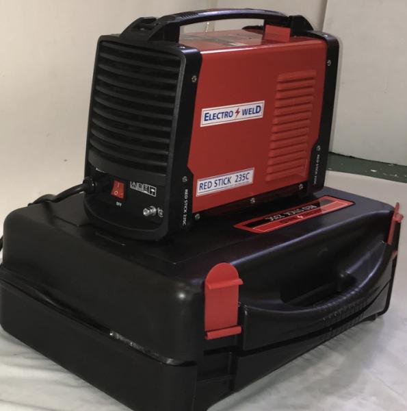 E/weld Red Stick 235 Inverter C/w Case