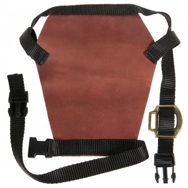 Brown Leather Bull Halter