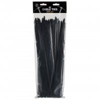 Arc Cable Ties Black (100 Pack)