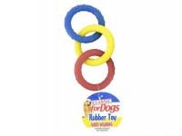 Triple Ring Rubber Tug
