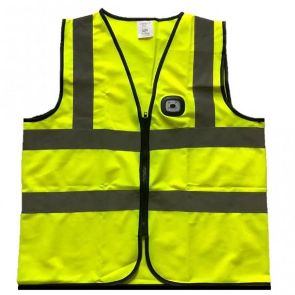Hi Viz Vest With LED Light