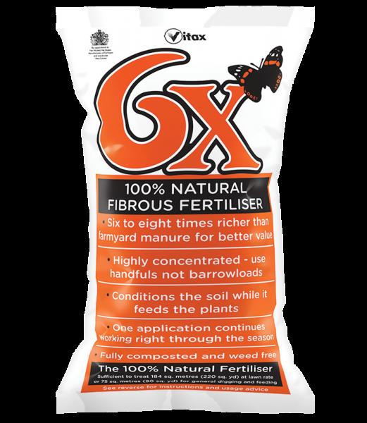 6x Fibrous Fertiliser 15kg