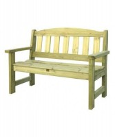 Bench 2 Seater - Brown