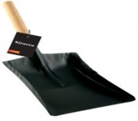 Wooden Handle Fire Shovel