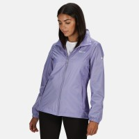 Regatta Corinne IV Lightweight Waterproof Packaway Walking Jacket - Lilac Bloom