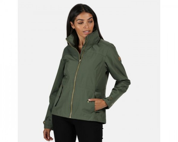 Regatta Laurenza Lightweight Waterproof Jacket - Thyme Leaf