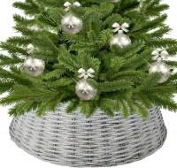 Grey Willow Christmas Tree Skirt - 70cm x 28cm