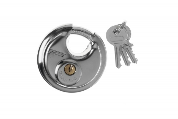 Stainless Steel Discus Lock 70mm