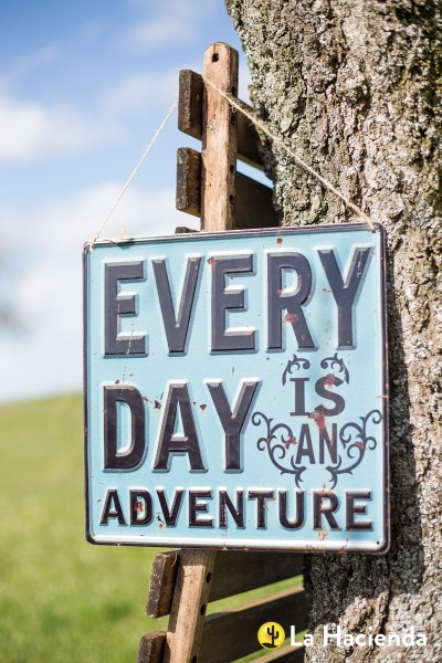 Steel Sign Everyday Adventure