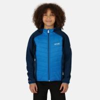 Regatta Kids Kielder Hybrid IV Jacket Nautical Blue/Dark Denim