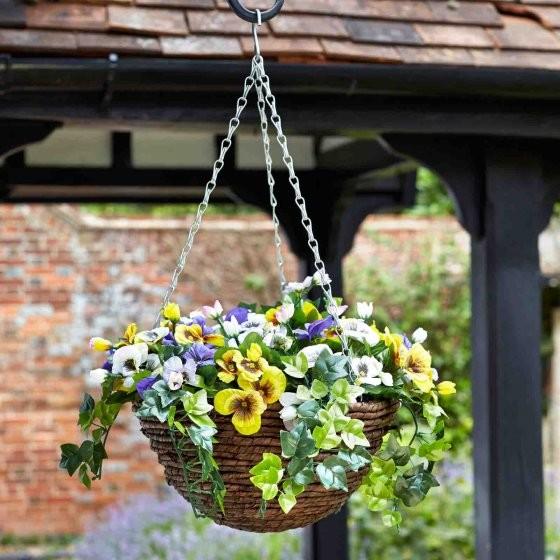 Easy Hanging Basket - Pansy