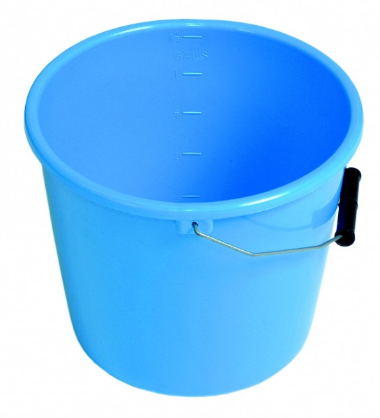 Gallon Blue Bucket Bored