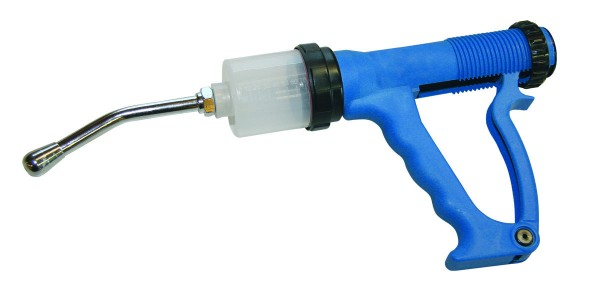 Drencher 70ml Plastic Manual Blue