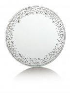 Silver Crystal Table Mirror