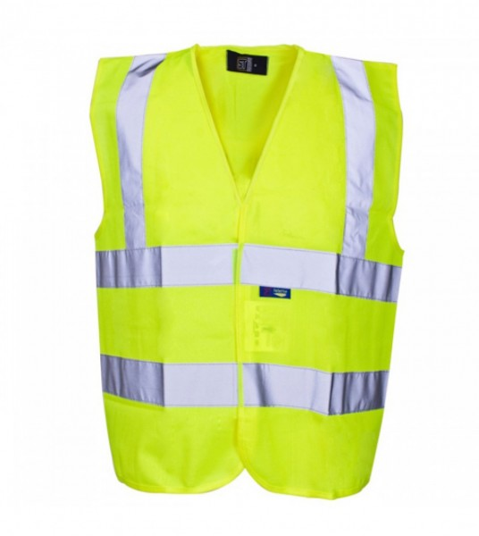 Hi Viz 2 band 2 belt yellow