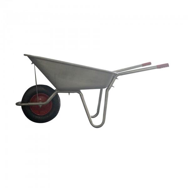 T120 Galvanised Wheelbarrow Assembled