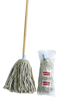 No 16 Yarn Mop & Wood Handle