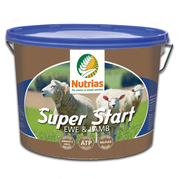 Nutrias Superstart Ewe & Lamb (18kg Bucket)