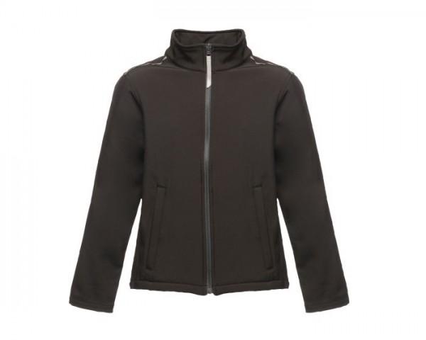 Kids Nutrias Black Softshell Jacket