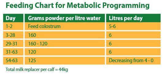 NutriStart_Milk_Replacer_FeedingChart_MetabolicProgramming