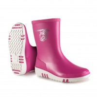 Dunlop Kids Mini Wellie Pink/White