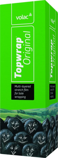 Volac Topwrap Green 750mm