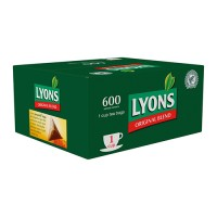 Lyons Teabags One Cup 600's