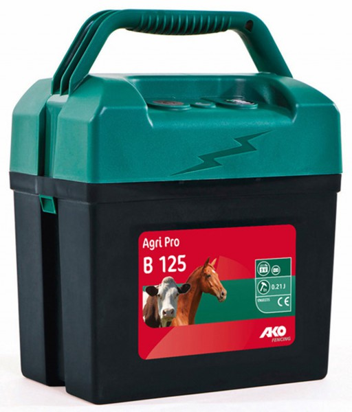 Fencer Ako Agri Pro B125 9v Battery Type