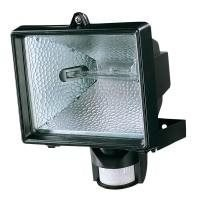 Spectra 500w Black Pir Flood Light