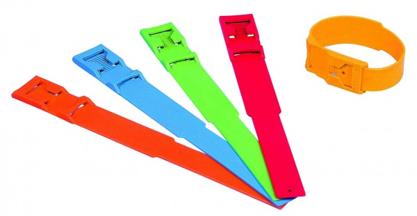 PLASTIC ANKLE STRAP BLANK