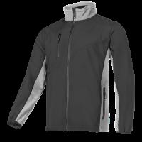 Frisco 631 Softshell Jacket Black/Grey